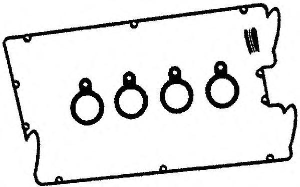 Прокладка к/к AJUSA 56013000 А26050+А26051 (4шт)
