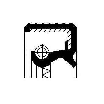 Уплотняющее кольцо, раздаточная коробка