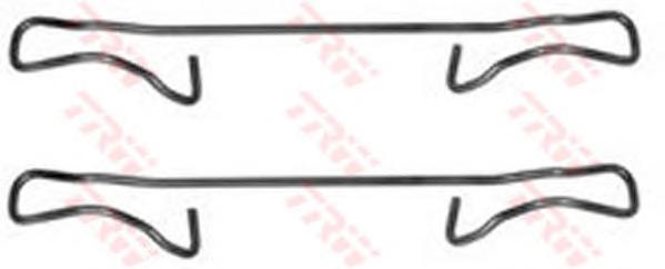 Пружинки тормозных колодок DAEWOO:NEXIA 02.95-08.97, NEXIA седан 02.95-08.97, OPEL:ASTRA F 09.91-09.98, ASTRA F CLASSIC хечбэк 01.98-08.02, ASTRA F CLASSIC седан 01.98-0