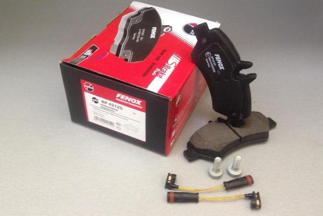 Колодки задние MB Sprinter 3t/3,5t/4,6t/5t 06-, VW Crafter 30-35/30-50 06- BP43120