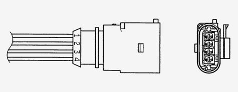 Лямбда зонд NGK 90405 /OZA629V23/ FABIA/POLO седан 1.6