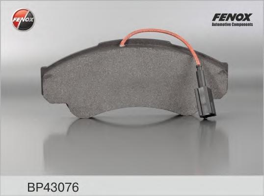 Колодки передние Fiat Ducato 94-02/02- 1850kg, PEUGEOT Boxer 94-02/02- BP43076