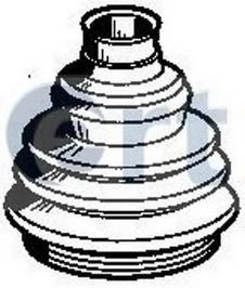 Пыльник ШРУСа наружн к-кт ALFA ROMEO: 145 94-01, 146 94-01, 147 01-, 155 92-97, 156 97-05, 166 98- \ FIAT: BRAVO 95-01, COUPE 93-00, MAREA 96-, MULTIPLA 99-, P