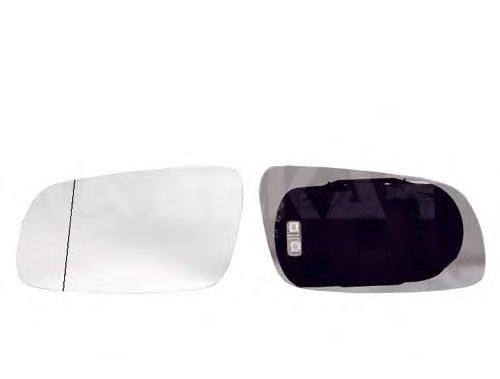 Стекло зеркала лев с подогр, асферич SEAT: ALHAMBRA \ VW: SHARAN - 98-00
