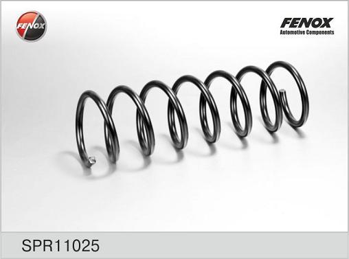 Пружина FENOX SPR11025 Ford Focus III 11- 1.6 задняя