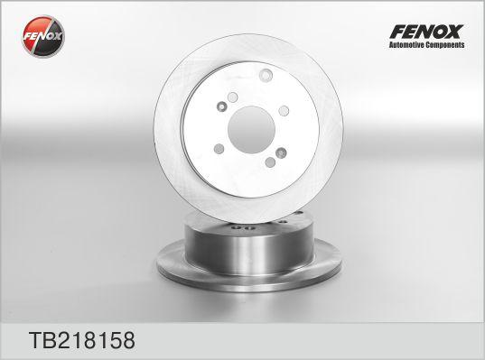 Диск тормозной задний Hyundai Accent, Getz, Kia Rio TB218158