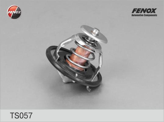 Термостат FENOX TS057 82 град. Mitsubishi Lancer 1.8-2.0 08>, Outlander 2.0, 2.4 06-12; Toyota Avensis 2.0D 99-08, Corolla 1.4-2.0D 00-07, Yaris 1.3-1.5, 1.4D 99-05, Prius 1.5 00-09