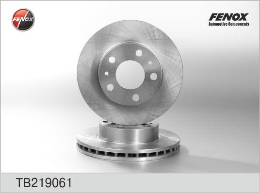 Диск тормозной передний FIAT DUCATO (250) TB219061