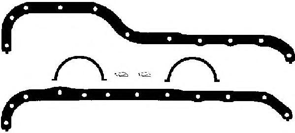 Комплект прокладок масляного поддона FORD SIERRA/TRANSIT/SCORPIO 1.3-2.0 OHC компл.