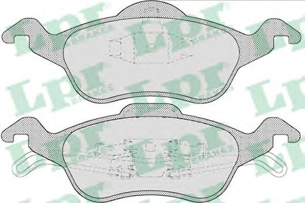 Комплект тормозных колодок 05P696