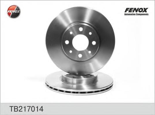 Диск тормозной передний FIAT Bravo 95-02, Marea 96-, Punto 94- TB217014
