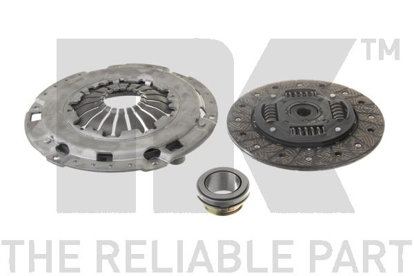 Комплект сцепления / DAEWO Lanos,Nubira•OPEL Astra-F, Calibra, Vectra-A 1.6/1.8/2.0 ( 220 mm ) 88~