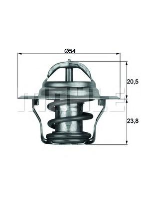 Термостат AUDI: A3 96-03, A3 03-, A3 Sportback 04-, A3 кабрио 08-, A4 94-00, A4 Avant 94-01, A6 94-97, A6 97-05, A6 Avant 94-97, A6 Avant 97-05, CABRIOLET