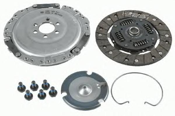 Сцепление SKODA OCTAVIA (1U_), VW GOLF IV 1,6 (74-75кВт) 3000822601