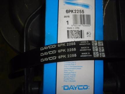 Ремень ручейковый DAYCO 6PK2255 LEXUS/AUDI