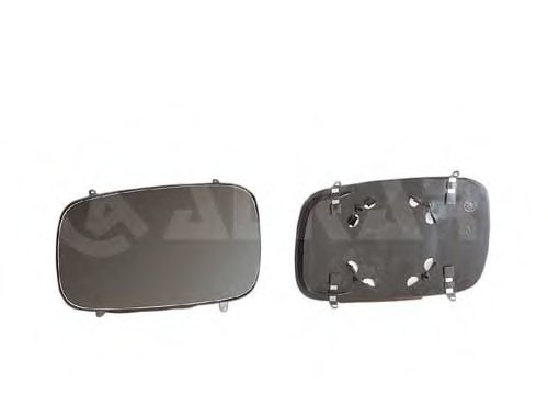 Стекло зеркала лев, асферич, с подогр VW: PASSAT (1988-96), Caddy 96- / SEAT: INCA(1995-03)