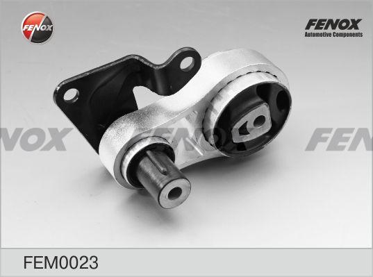 Опора двигателя задняя FORD Fiesta V, Fusion, MAZDA 2, 1,2-1,6, 01-08 FEM0023