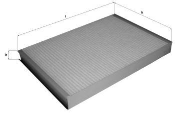 Фильтр салона [угольный] MERCEDES 3,5 c/3,5-t/3-t/5-t/CDI 06/06->.VW 30-35/30-50/TDI 04/06->