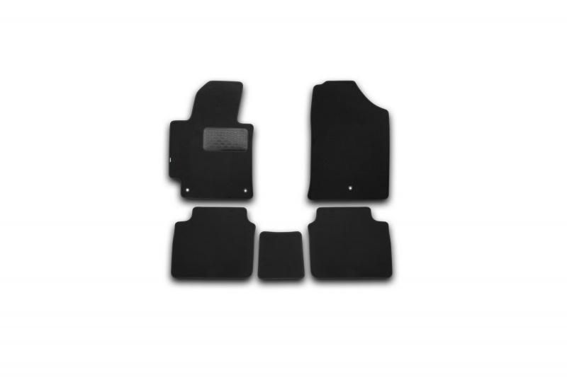 Коврики в салон Klever Premium HYUNDAI Elantra 2014->, сед., 5 шт. (текстиль)