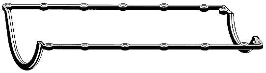 Прокладка масляного поддона Opel Omega, Frontera 2.4 C24NE 88-95