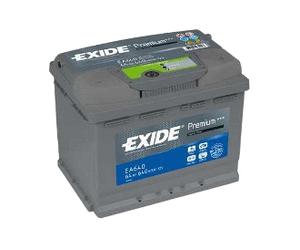Аккумулятор EXIDE PREMIUM 12V 64AH 640A ETN 0(R+) B13 242x175x190mm 15.75kg