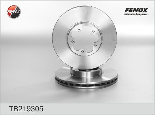 Диск тормозной передний FORD Transit 06- TB219305