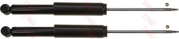Амортизатор TRW JGT244T FORD FOCUS 1998 - 2005 задн. (кмпл.2шт.; цена за штуку)