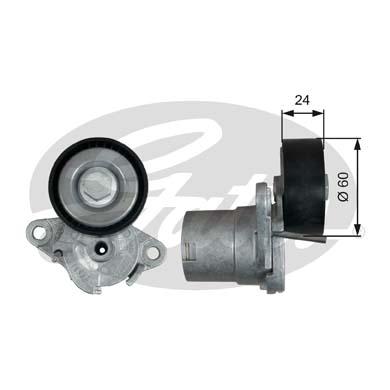 Ролик натяжителя GATES T39272 Audi A3/A4/A5/A6/Q3/Q5 1.8/2.0TFSI 08-