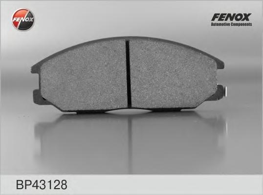 Колодки передние Hyundai Santa Fe I (SM) 01-06, SsangYong Rexton 02-, Actyon 02- BP43128