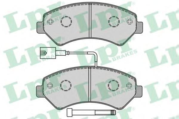 Комплект тормозных колодок 05P1288
