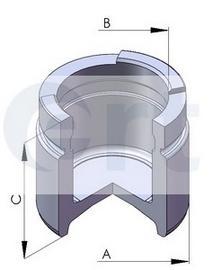 Поршень тормозного суппорта D52 OPEL: ASTRA F/VECTRA B F