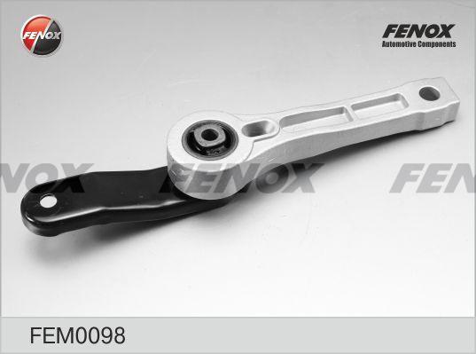 Опора двигателя задняя AUDI A3, SKODA Octavia 1,4-1,6, 2,0SDi 03- FEM0098