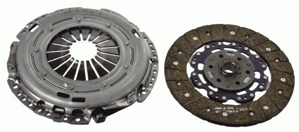 Сцепление SKODA OCTAVIA (1Z), VW GOLF V, PASSAT (3C) 2,0TDI 3000970004