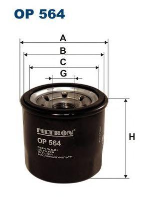 Фильтр масляный OP564