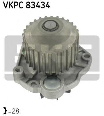 Насос водяной Citroen C5/C8 / Peugeot 406/407/607/807 / Renault Laguna 3.0 V6 00-