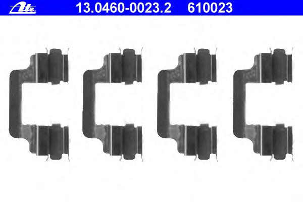 Пружина тормозных колодок AUDI A4 (B6/B7) (01-08)