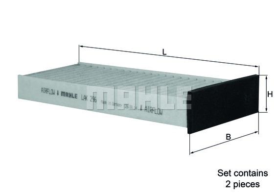 Фильтр салона угольный MI Colt, Pajero III 2.5 TD