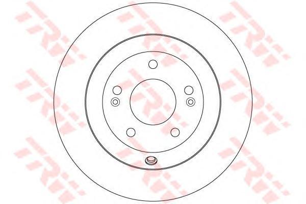 Диск тормозной задний HYUNDAI SANTA FE II-III, KIA SORENTO II DF7996
