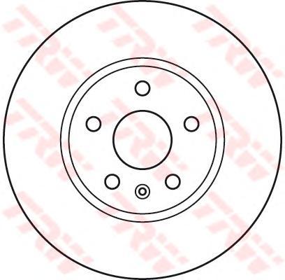 """Диск тормозной передний OPEL INSIGINIA 17"""" (321мм) DF4996S"""