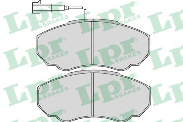 Комплект тормозных колодок 05P966