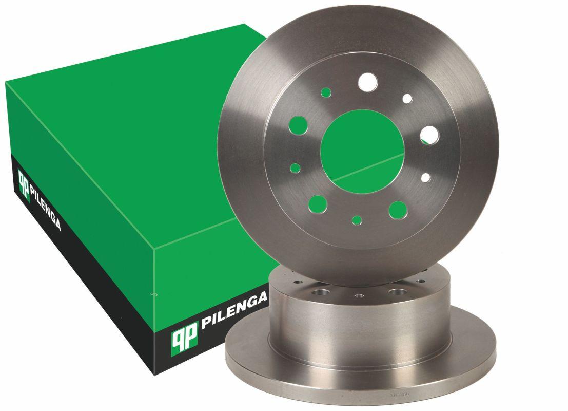 Диск тормозной DUCATO Q18,BOXER,JAMPER задний 02- Pilenga (280х16)