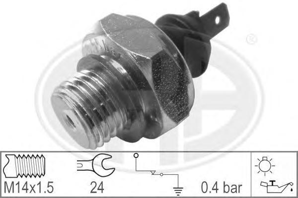 Датчик давления масла OPEL: ASCONA C (81, 86, 87, 88) 1.3 N/1.6/1.6 S/1.8/1.8 E/1.8 i/2.0 i/2.0 i GT/2.0 i KAT 81-88, ASCONA C Наклонная задняя часть (84, 89) 1.3 N/1.