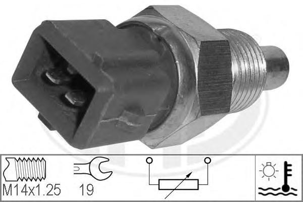 Датчик температуры охлаждающей жидкости CITROEN: AX (ZA-) 1.4 GTi/14/14 4x4 86-98, BERLINGO (MF) 1.1 i (MFHDZ, MFHFX)/1.4 i (MFKFX, MFKFW)/1.8 D (MFA9A)/1.8 i (MFLFX)/1.8 i 4WD (MFLFX)/