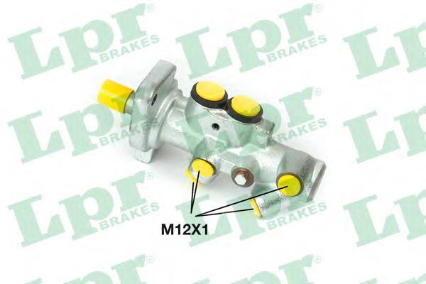 Цилиндр тормозной LPR 1371 D23.81 Audi A3/VW Golf4 главн.