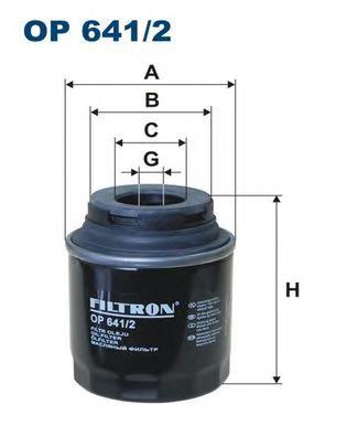 Фильтр масляный VAG A1/3, Fabia, Caddy, Golf VI