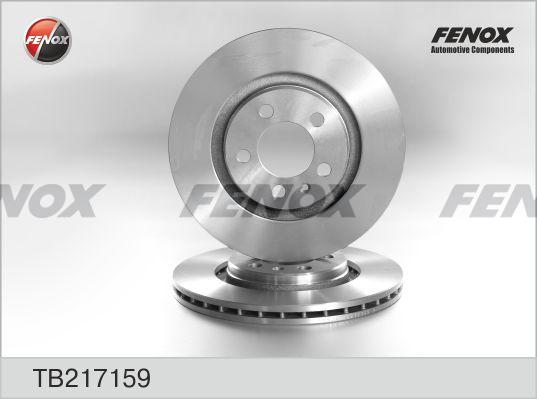 Диск тормозной FENOX TB217159 AUDI A3, VW Bora/Golf IV/Passat пер вент