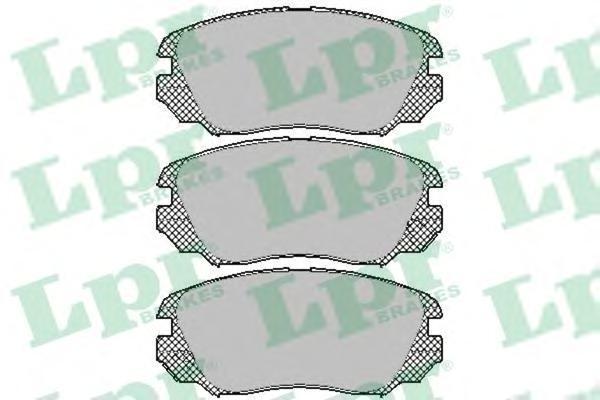 Комплект тормозных колодок 05P1409