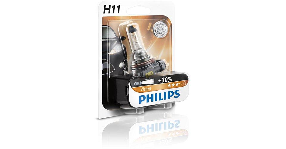Лампа H11 (55W) PGJ19-2 Premium 12V 12362PR B1 36428630