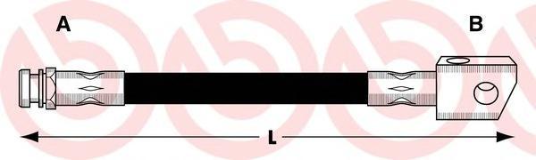 Тормозной шланг Re L/R OP Astra G, Zafira A 99-05