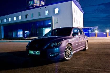 Eibach Pro-Kit на Mazda 3 MPS
